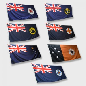 National and State Flags