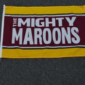 Mighty-Maroons-hand-flag