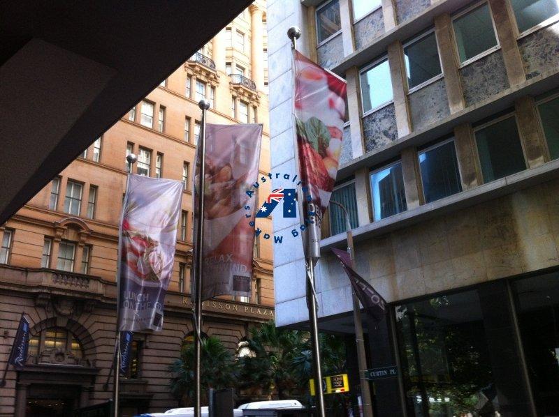 Sydney Street Flags