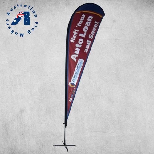 teardrop banners brisbane