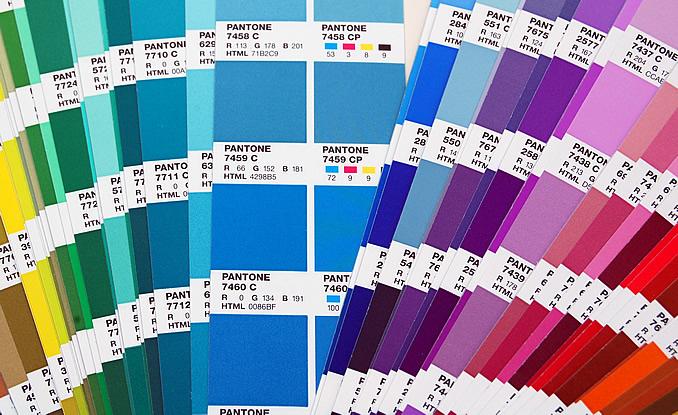 PMS colour Chart