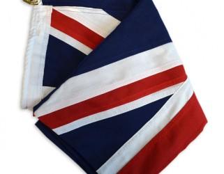 sewn Australian flag