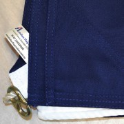 Australian flag Sewn edges