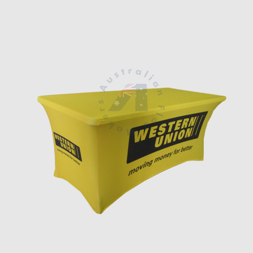 6ft western stretch table cover side