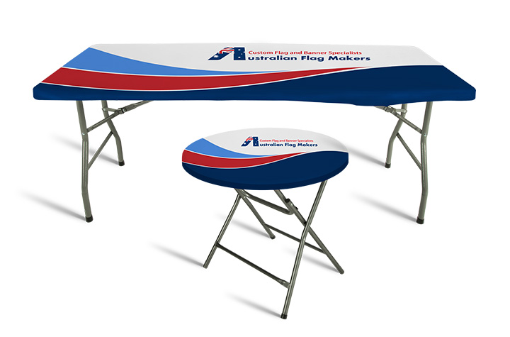 ... Top Covers, Which Is Why We Offer Them In Multiple Shapes And Sizes.  From Six Foot Rectangular Tables To Circular Tables With A Large Diameter,  ...