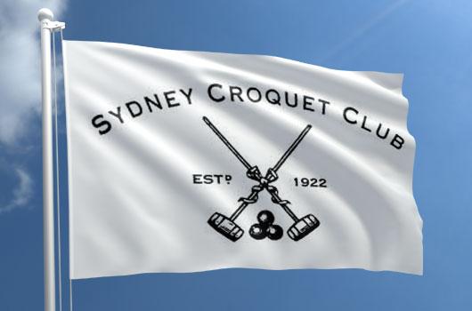 Croquet Club flag