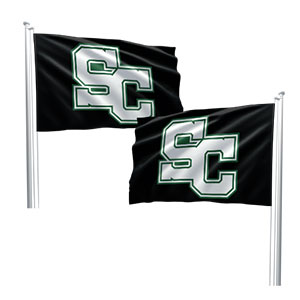 double sided custom flag