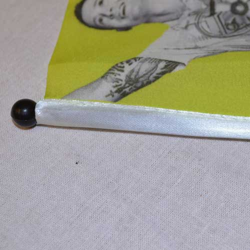 Hand Flag 10cm x 15cm Single Sided Reverse