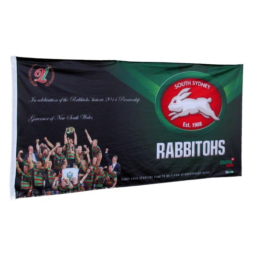 Personalised Flag 180cm x 90cm Single Sided Reverse