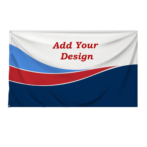 Personalised Flag 180cm x 120cm Double Sided