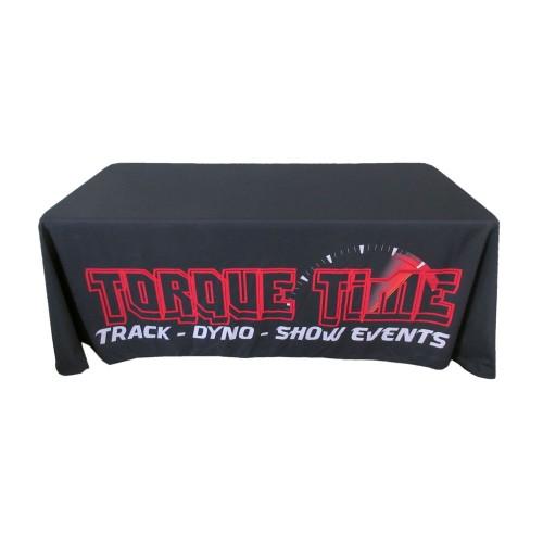 6ft Custom Printed Table Throw