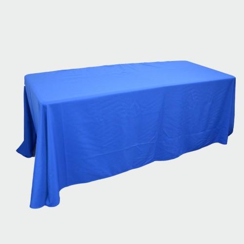 Blue Table Throw 6ft