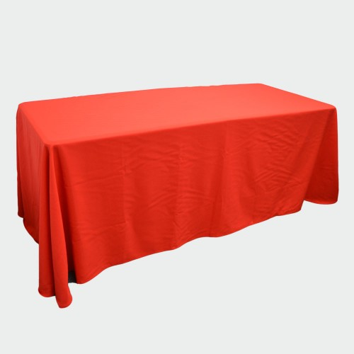 Red Table Throw 6ft