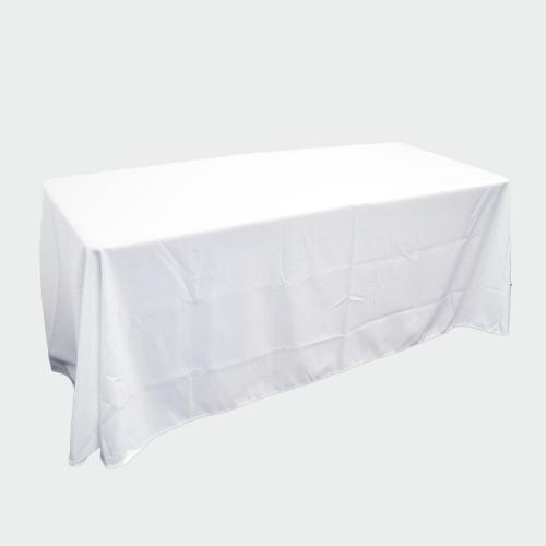 White Table Throw 6ft