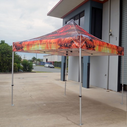3x3 Printed Marquee Tent
