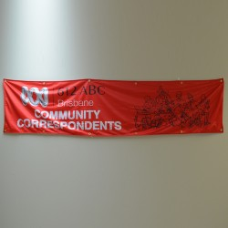 Blockout Fabric Banner