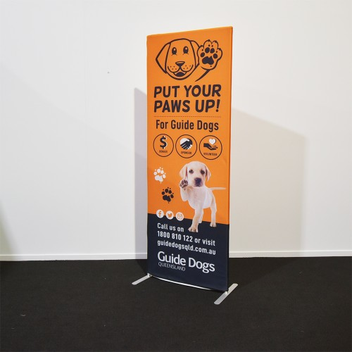 Eco Fabric Stand 85cm W - 48Hrs Production
