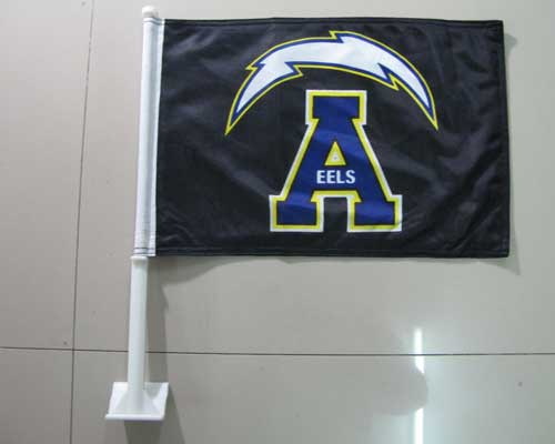 A-eels-car-flag