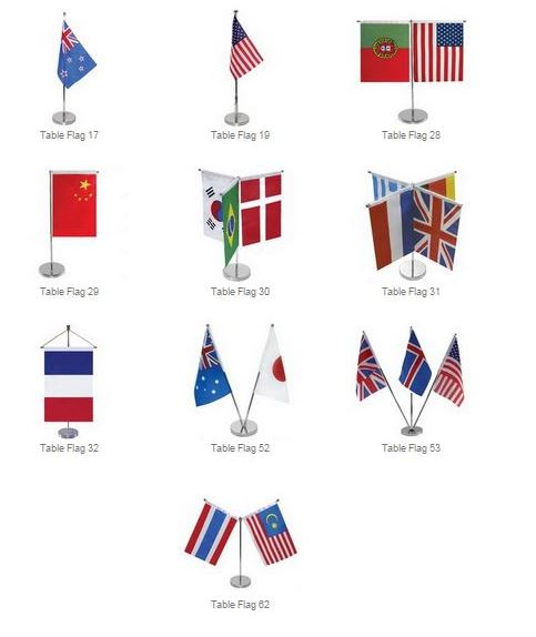 table-flags