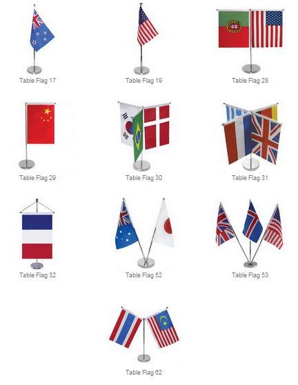 table flag styles