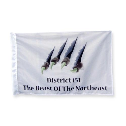 Beast flag 2x3