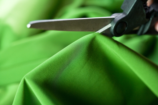 Cutting Fabric Custom Flags And Banners By Australian