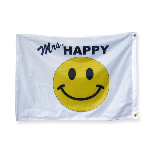 happy face flag 2x3