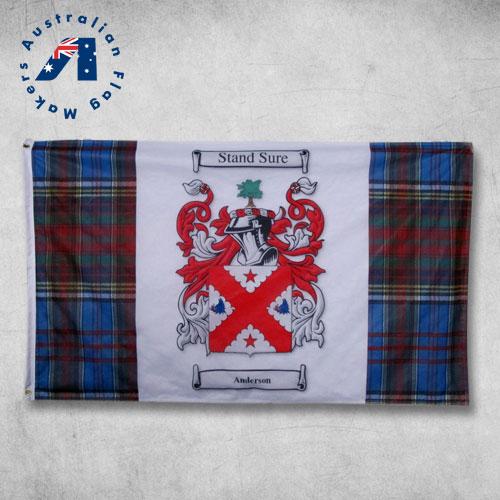 family crest flag