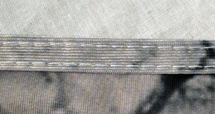 two row stitching