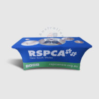 6f Stretch Table Cover RSPCA