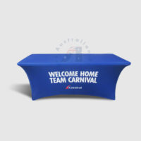 6f Stretch Table Cover carnival