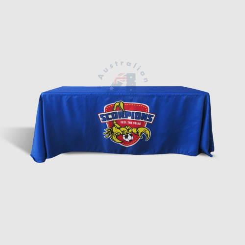 Custom Printed Table Throw 6ft