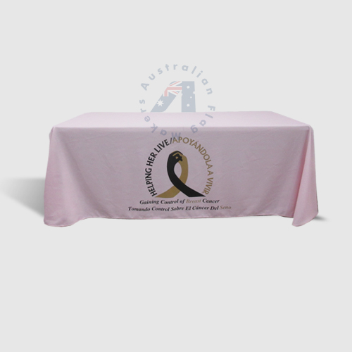 6ft Table Throw Pink