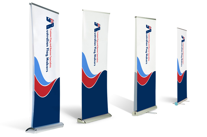 roll the image out and secure it with velcro when youre all done the banner rolls into the base ensuring wrinkle free storage
