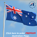 premium high grade Australian flags