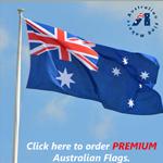 premium high grade Australian flags