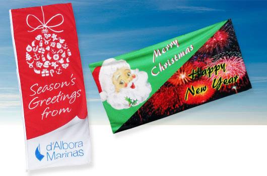season-christmas-flags