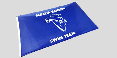 Swim Team Flags