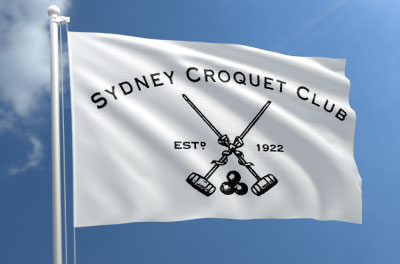 Croquet Club Flag