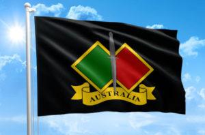 Army flag Australia