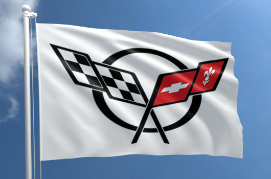corvette club flags