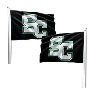 double sided custom flag