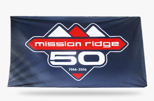 mission ridge Athletics Flags